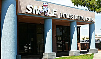 Outside entrance of Smile Fitness Dental Centers